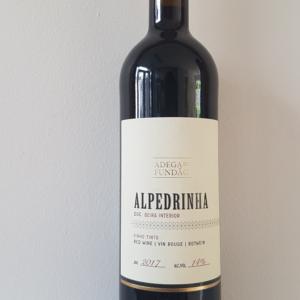 Alpedrinha rode wijn