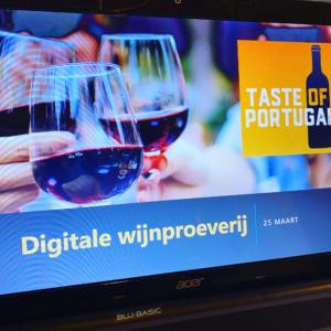Wijnproeverij - digitaal